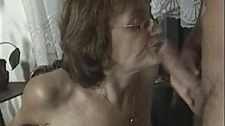 Anal session with hot older women .see