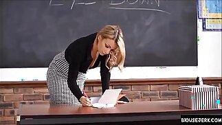 Penny Lee Sexy teacher boobs