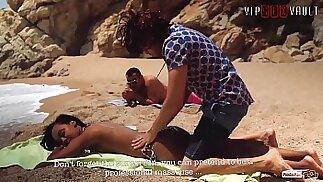 VIP SEX VAULT How To Approach A Girl At The Beach And Fuck Her Noe Milk Antonio Ross
