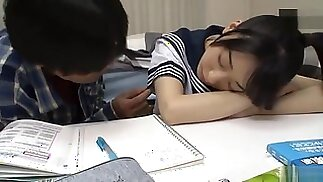 Japanese cute sister force brother to cum inside- part 2
