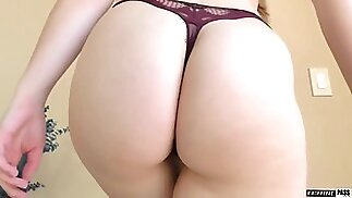 Pawg Teen With Pigtails Is Forced To Fuck