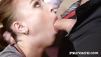 kira thorn gets punished by a tutor for drawing a dick