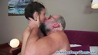 old and young sex video