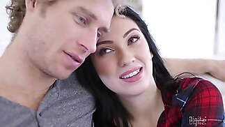 Aria Alexander loves to be fucked by another man while her BF watches