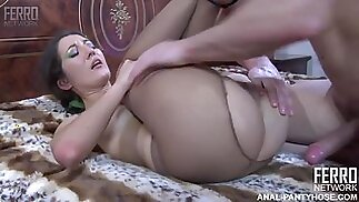 Russian woman, Olga got down and dirty with a younger guy and enjoyed it a lot